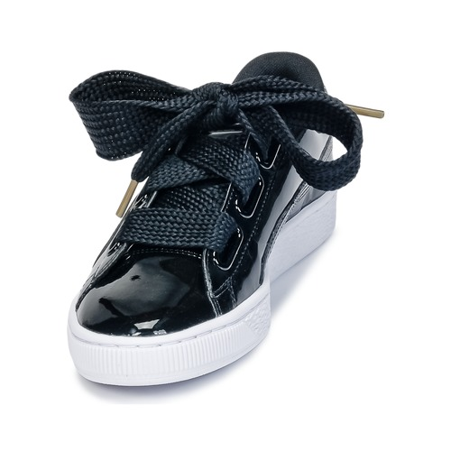Puma BASKET HEART PATENT WN'S Schuhe Schwarz  Schuhe WN'S Sneaker Low Damen 79,99 dd2f66