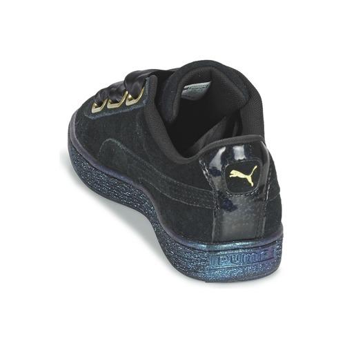 Puma Schuhe BASKET HEART SATIN WN'S Schwarz  Schuhe Puma Sneaker Low Damen 53,39 0173f3