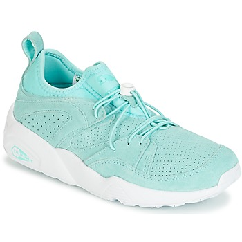 Schuhe Damen Sneaker Low Puma BLAZE OF GLORY SOFT WNS Blau / Weiss