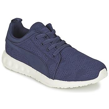 Schuhe Herren Sneaker Low Puma CARSON RUNNER CAMO MESH EEA Blau