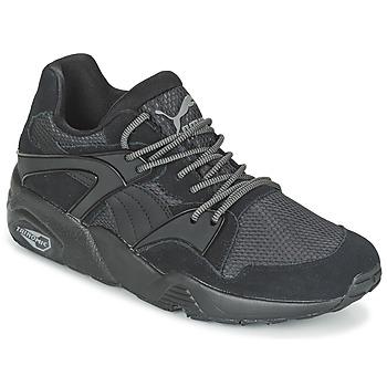 Schuhe Herren Laufschuhe Puma BLAZE CORE Schwarz