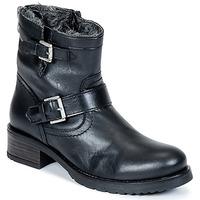 Schuhe Damen Boots Buffalo ES-30493-MEXICO Schwarz