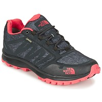 Schuhe Damen Wanderschuhe The North Face LITEWAVE FASTPACK GORETEX Schwarz / Korallenrot