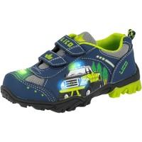 Schuhe Jungen Halbschuhe Lico Monstertruck V blau