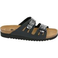 Schuhe Damen Hausschuhe Lico Bioline Lady schwarz