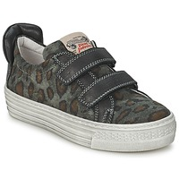 Schuhe Kinder Sneaker Low Diesel JERMAN Grau / Leopard