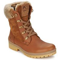 Schuhe Damen Low Boots Panama Jack TUSCANI Braun