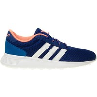 Schuhe Damen Sneaker Low adidas Originals Lite Racer W Weiß-Blau