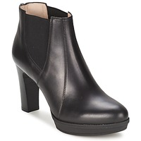 Schuhe Damen Low Boots Unisa MIJAL Schwarz
