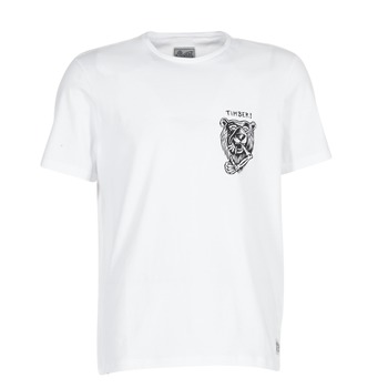 Kleidung Herren T-Shirts Element ATTACK SS Weiss