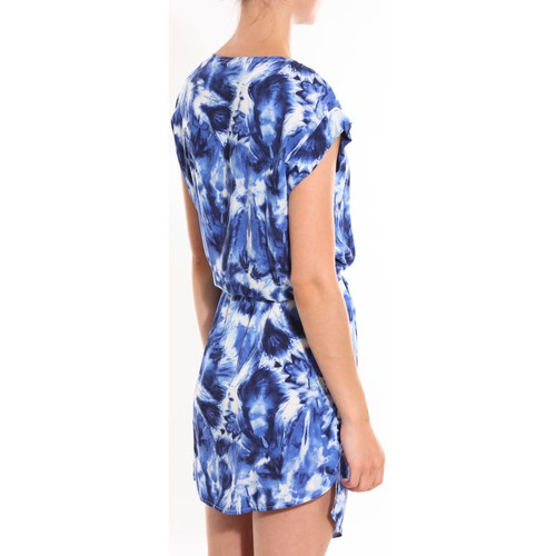 Davis Robe Mystique Bleu Blau - Kleidung Kurze Kleider Damen 2420 NYPEe