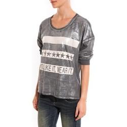 Kleidung Damen Pullover Dress Code Pull Mooiki Gris Grau
