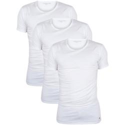 Kleidung Herren T-Shirts Tommy Hilfiger 3 Stück Premium Essentials T-Shirts wei