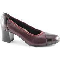 Schuhe Damen Pumps Grunland GRÜNLAND CIAC SC2315 weinrot Schuhfrauen- dcollet Stretch Rosso