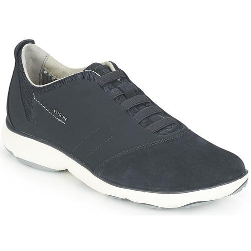 Geox NEBULA Blau Schuhe Sneaker Low Herren 87,50
