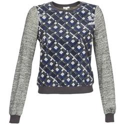 Kleidung Damen Sweatshirts Manoush MOSAIQUE Grau / Schwarz / Blau