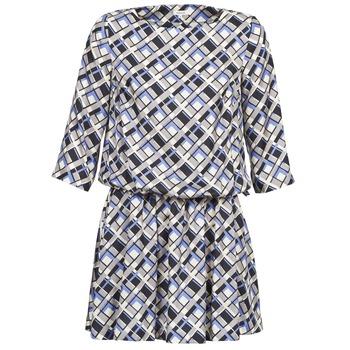 Kleidung Damen Kurze Kleider Manoush MOSAIQUE Grau / Schwarz / Parma