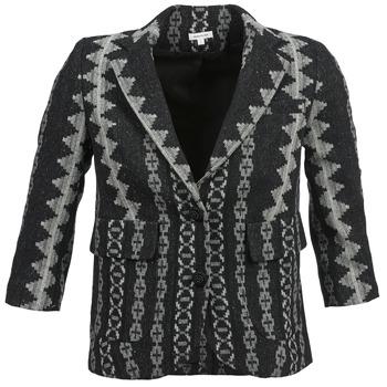 Kleidung Damen Jacken / Blazers Manoush TAILLEUR Grau / Schwarz