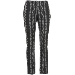 Kleidung Damen 5-Pocket-Hosen Manoush TAILLEUR Grau / Schwarz