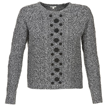 Kleidung Damen Pullover Manoush TORSADE Grau / Schwarz