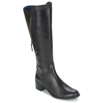 Schuhe Damen Klassische Stiefel PintoDiBlu CARTIL Schwarz