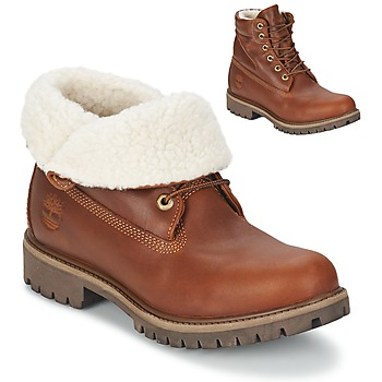 Schuhe Herren Boots Timberland ROLL TOP L/F AF Braun