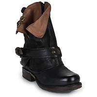 Schuhe Damen Boots Airstep / A.S.98 SAINT BIKE Schwarz