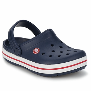 Schuhe Kinder Pantoletten / Clogs Crocs CROCBAND KIDS Marine