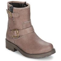 Schuhe Mädchen Klassische Stiefel Citrouille et Compagnie JENY Maulwurf