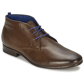 Schuhe Herren Boots Azzaro ISON Kastanie