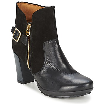 Schuhe Damen Low Boots Hispanitas ARIZONA Schwarz