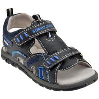 Schuhe Jungen Sandalen / Sandaletten Super Jump 2440Klettsandale Blau