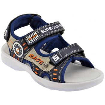 Schuhe Jungen Sandalen / Sandaletten Super Jump 2446Klettsandale Blau