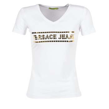 Kleidung Damen T-Shirts Versace Jeans B2HPA7GC Weiss
