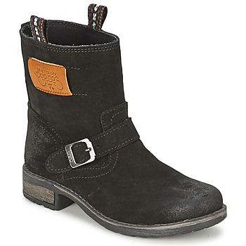 Schuhe Mädchen Boots Le Temps des Cerises JUNIOR ALOE Schwarz