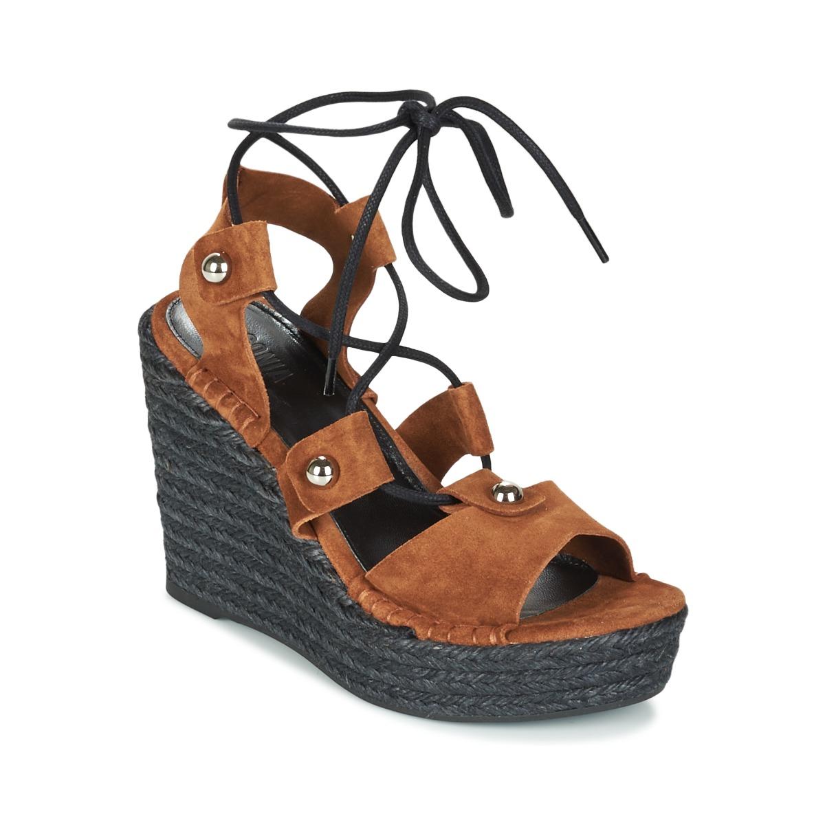 Sonia Rykiel 622908 Tabac - Kostenloser Versand bei Spartoode ! - Schuhe Sandalen / Sandaletten Damen 161,40 €
