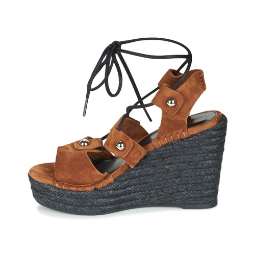 Sonia Rykiel 622908 Tabac  Schuhe Sandaletten Sandalen / Sandaletten Schuhe Damen 161,40 6e6a62