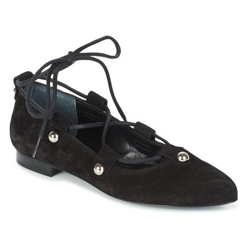 Sonia Rykiel 622107 Schwarz Schuhe Ballerinas Damen 143,40