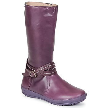 Schuhe Mädchen Klassische Stiefel Garvalin TARDA Malvenfarben