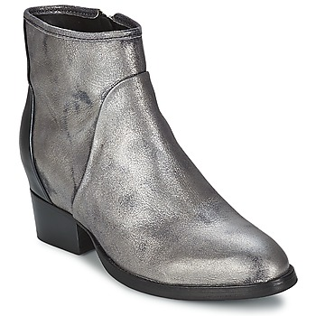 Schuhe Damen Low Boots Catarina Martins METAL DAVE Silbern