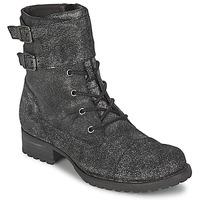 Schuhe Damen Boots One Step IDAN  silber