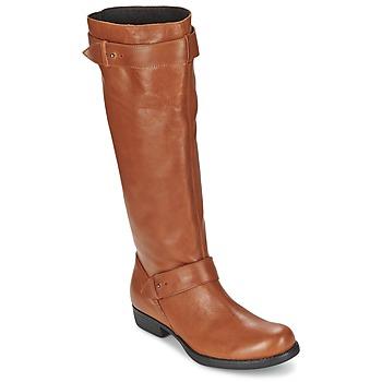 Schuhe Damen Klassische Stiefel One Step IANNI Karamell