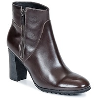 Schuhe Damen Low Boots One Step ISIAH Schokobraun