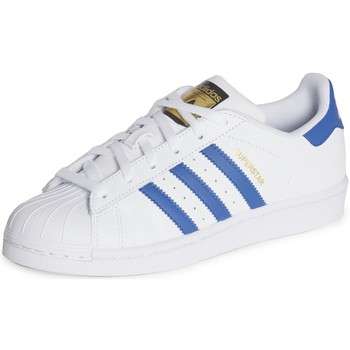 Schuhe Kinder Sneaker Low adidas Originals  Blanc