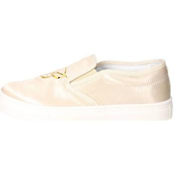 Schuhe Mädchen Slip on Blumarine D3552 Beige