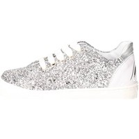 Schuhe Kinder Sneaker Low Blumarine Blumarine  D3556 Niedrige Sneakers Mädchen Silber Silber