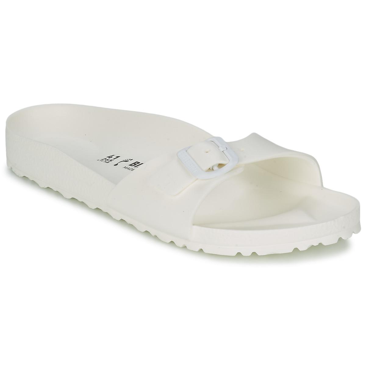 Birkenstock MADRID EVA Weiss - Kostenloser Versand bei Spartoode ! - Schuhe Pantoffel Damen 24,49 €