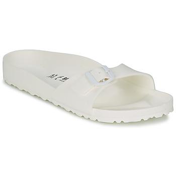 Schuhe Damen Pantoffel Birkenstock MADRID EVA Weiss