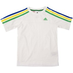 Kleidung Kinder T-Shirts adidas Performance T-shirt enfant Weiss