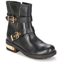 Schuhe Damen Boots Elle RASPAIL Schwarz